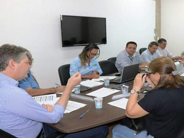 Conselho se reuniu nesta terça-feira para fazer avaliação sobre financiamentos do FCO. (Foto: Semagro/Divulgação)