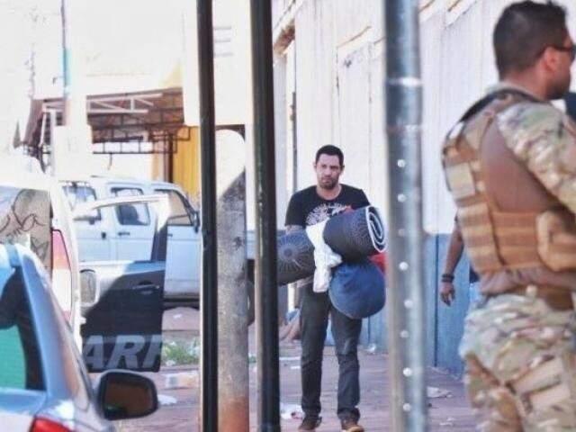 Marcelos Rios depois de ser preso. (Foto: Arquivo/Campo Grande News)