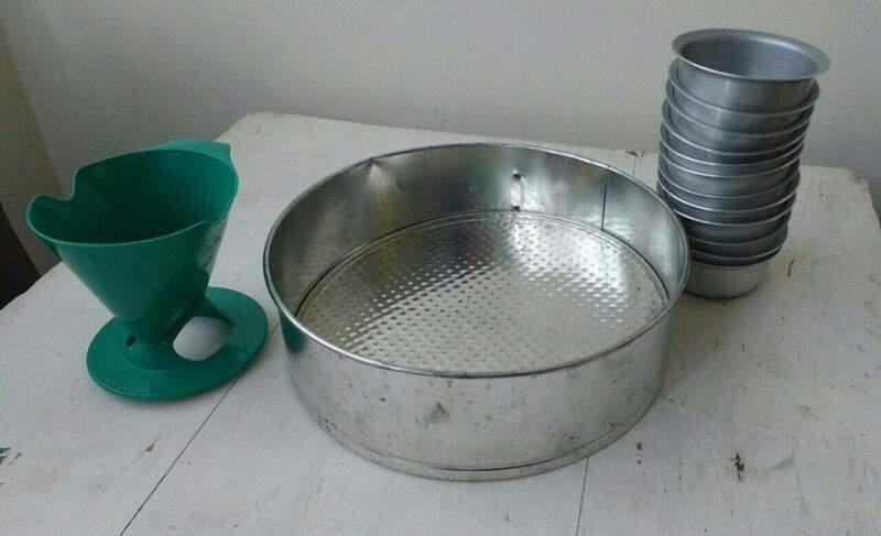 Desapego: utensílios de cozinha bem em conta para quem está montando a própria casa.