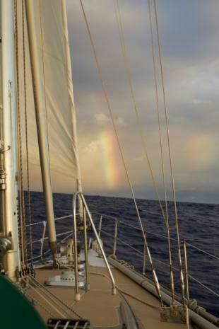 Chegando na ilha de Guadeloupe, no Caribe. 2010. (Foto: Tassio Azambuja)