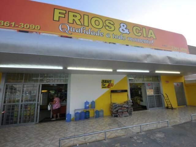 Casa de Frios fica na Avenida Júlio de Castilhos, 621, na Vila Alba. (Foto: Alcides Neto)