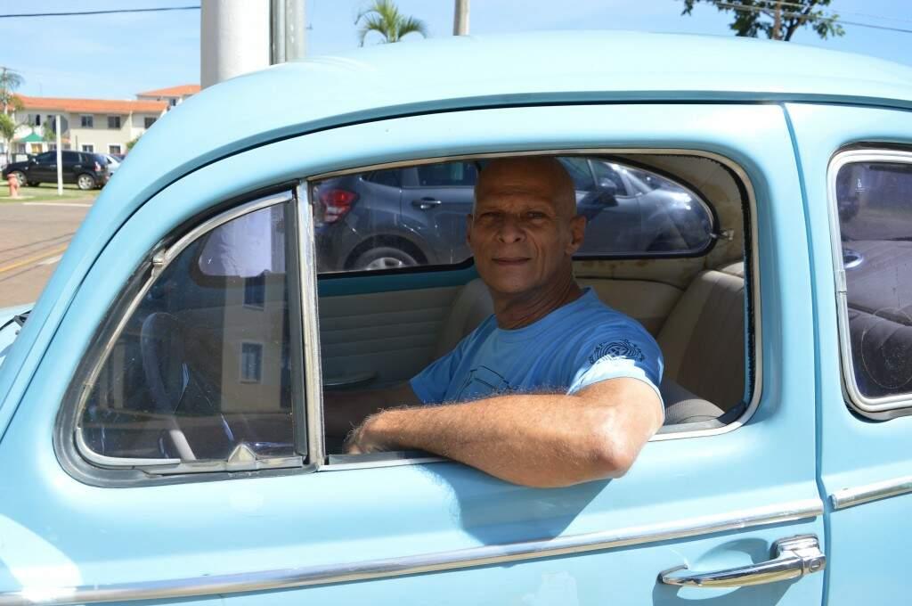 Da brincadeira de contar Fusca, hoje médico anda no carro que virou astro