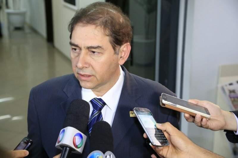 Alcides Bernal criticou postura da Solurb em recusar proposta do MP. (Foto: Gerson Walber)