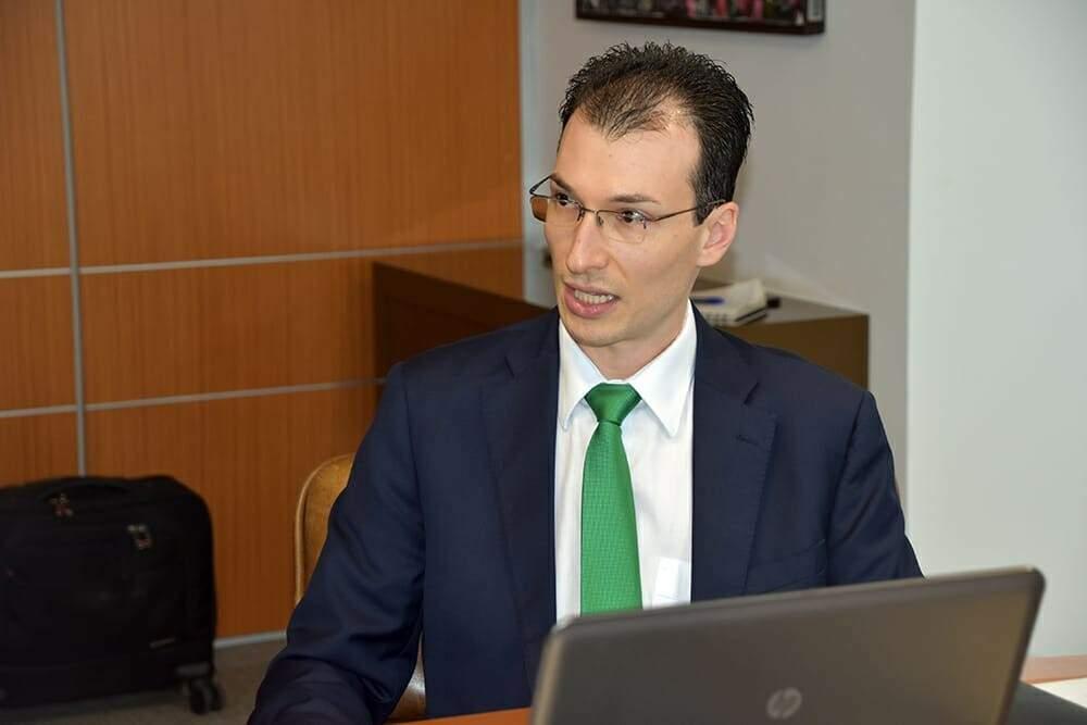 Rodrigo Sauaia, presidente da Absolar, em reunião na Fiems. (Foto: Divulgação/Fiems)
