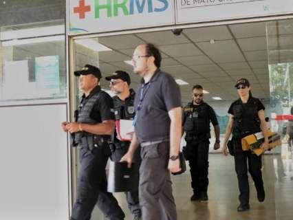 Diretor do Hospital Regional é preso por posse ilegal durante operação
