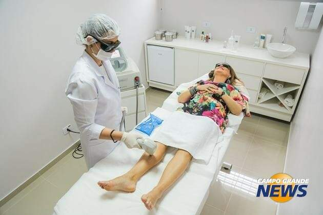 A clínica oferece uma promoção especial durante o mês de novembro. São 55% de desconto em todos os pacotes de depilação a laser e estéticos (Foto: Divulgação)