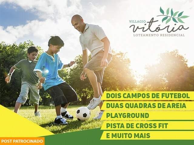 Villagio Vitória. (Foto: Divulgação/ Hedge)