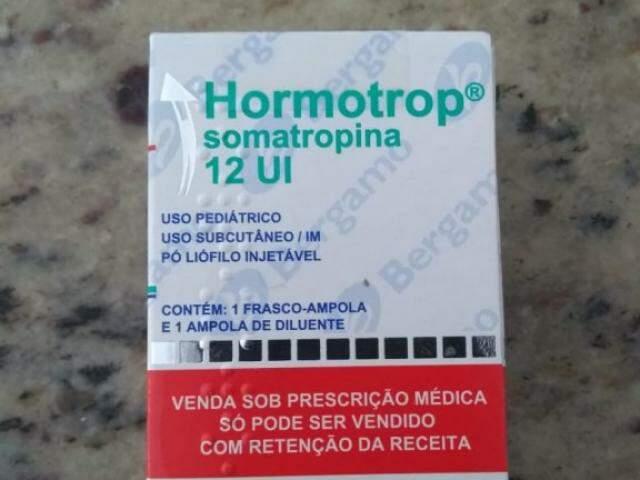 Remédio é necessário para pessoas que têm déficit de hormônio do crescimento (Foto: Direto das Ruas)