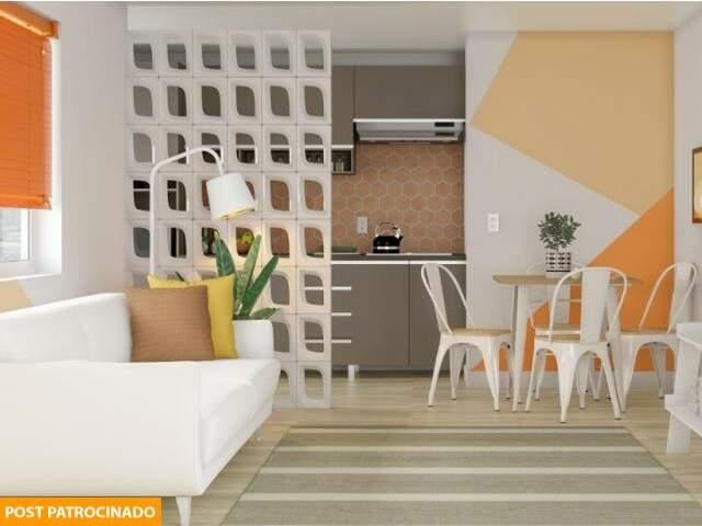De cobogós a papel de parede, pisos laminados, revestimentos e móveis para diferentes espaços, tudo você encontra na Leroy Merlin. (Foto: Reprodução Site Leroy Merlin)