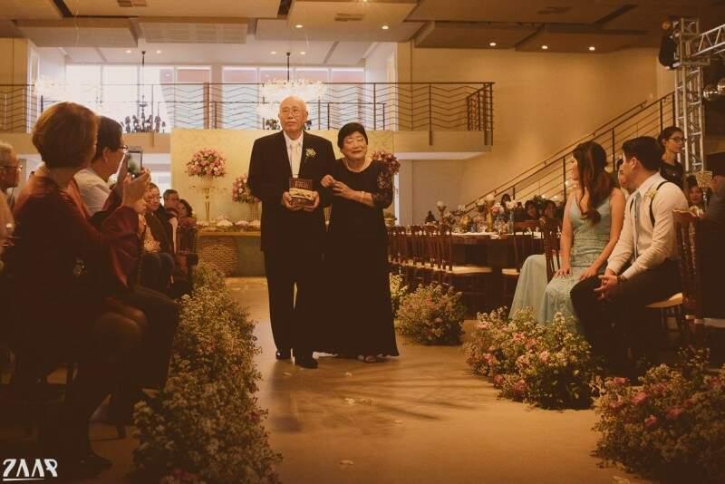 Os avôs de Hideki levaram com amor as alianças. (Foto: Renato Zaar)