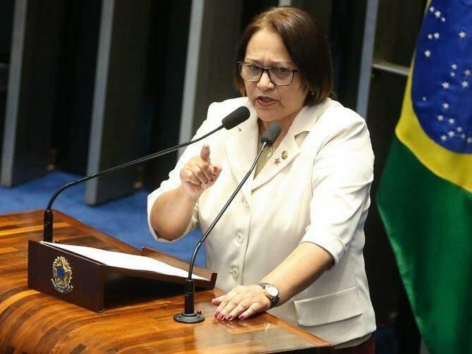 Fátima Bezerra, eleita governadora do Rio Grande do Norte. Arquivo/Antonio Cruz/Agência Brasil)