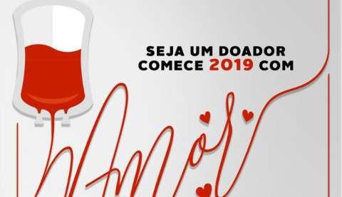 Hemosul começa o ano com apelo para doação de sangue A e O negativo