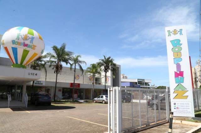 A loja fica na Avenida Afonso Pena, 5154, na galeria em frente ao Shopping Campo Grande, (Foto: Marcos Ermínio)