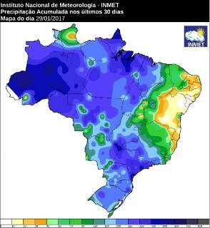 Norte de MS registra 400 milímetros de chuva no mês, maior número do Estado