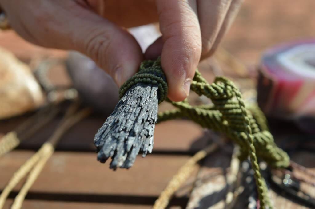 A Pedra de Dedo de Bruxa (Foto: Alana Portela)