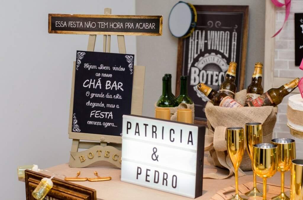 Chá Bar da Feitos para Festas.  (Foto: Acervo Pessoal)