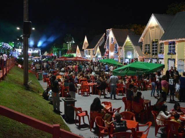 Gastronomia é uma das atrações do espaço neste ano (Fotos: Thailla Torres)