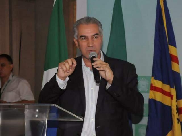 Governador Reinaldo Azambuja (PSDB) vai participar da posse da Famasul (Foto: Paulo Francis)