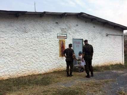 Operação do Exército fiscaliza estabelecimentos com explosivos