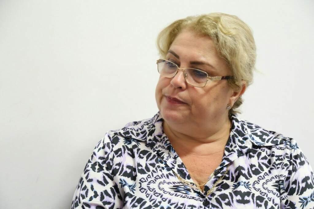 """""""Isso é em benefício do candidato"""", diz Mirella, sobre nova etapa antes da matrícula. (Foto: Marcos Ermínio)"""