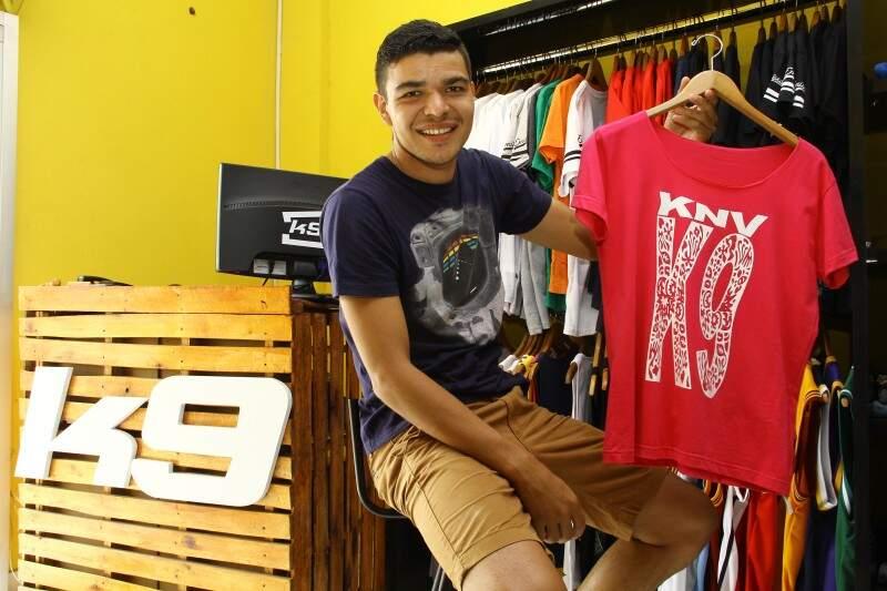 Kamilo pretende abrir outra loja de sua marca