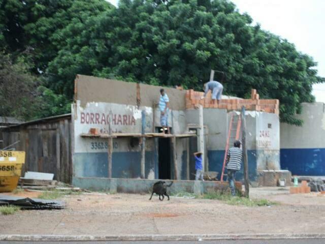 Construir em MS custa R$ 1.023,64 por metro quadrado (Foto: André Bittar)