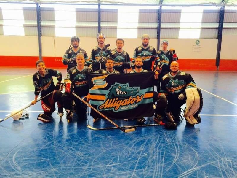 Time é um dos três de Hockey do Estado (Foto: Reprodução/ Facebook)