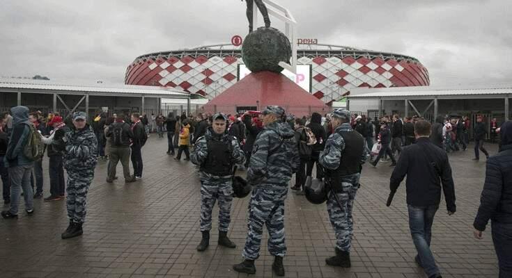 Foi uma Copa do Mundo bastante vigiada com policiais atentos e dedicados por todas as partes (Foto: Paulo Nonato de Souza)