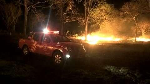 Dois incêndios destroem 16 hectares de vegetação às margens da BR 262