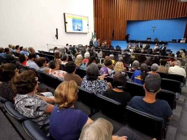 Reunião da frente parlamentar será na Assembleia (Foto: Wagner Guimarães/ALMS)