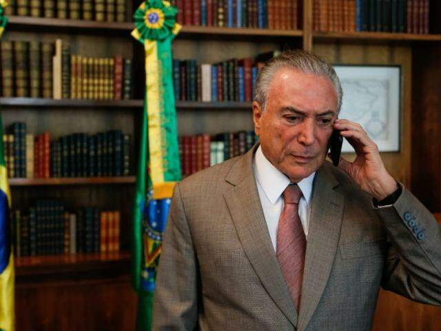 Temer foi alvo de denúncias envolvendo pagamento de propina nesta quarta-feira (Foto: Marcos Corrêa/PR/Divulgação)
