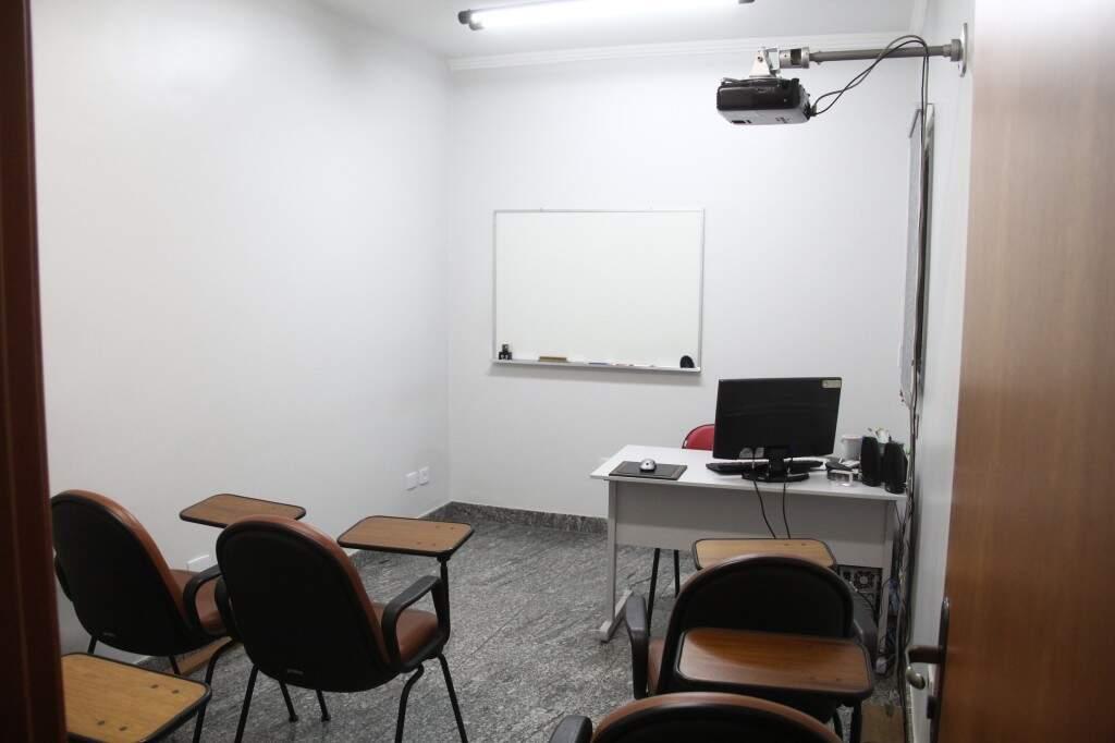 Sala de aula: Foto Marcos Ermínio