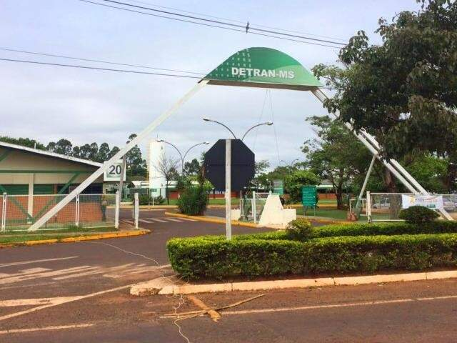 Sede do Detran-MS, em Campo Grande (Foto: Arquivo)