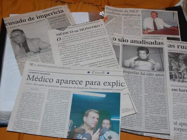 Escândalo estampou as manchetes em 1999 e ainda rende vários processos na Justiça contra Rondon. (Foto: Arquivo)