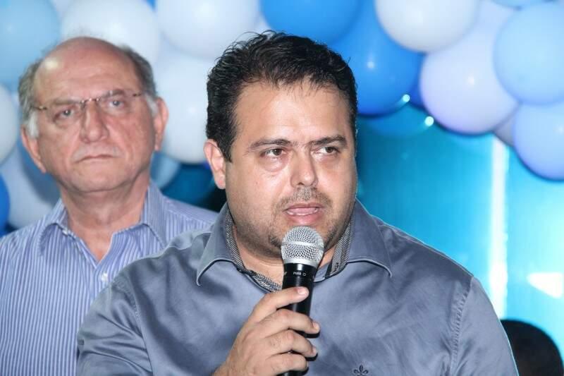 Secretário municipal de Saúde, Ivandro Fonseca: município não consegue transferir paciente com suspeita de gripe H1N1 (Foto: Alan Nantes/Arquivo)