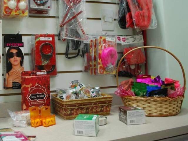 Sex shops investem em promoções de produtos. (Foto: Alessandro Martins)