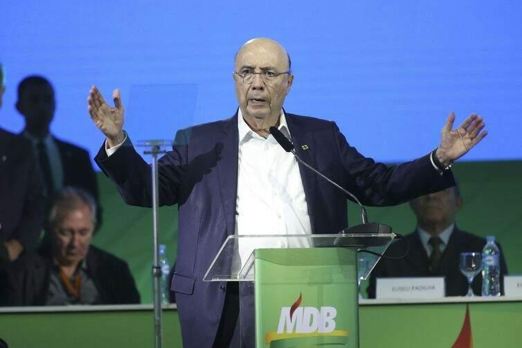 Convenção Nacional do MDB confirmou candidatura de Henrique Meirelles (Foto: Antonio Cruz/Agência Brasil)