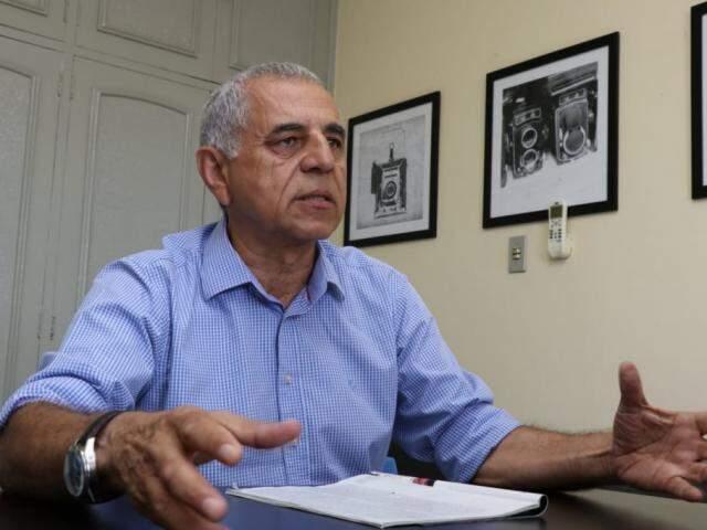 Paulo Catanante, dono do instituto de pesquisas Ibrape (Foto: Henrique Kawaminami)