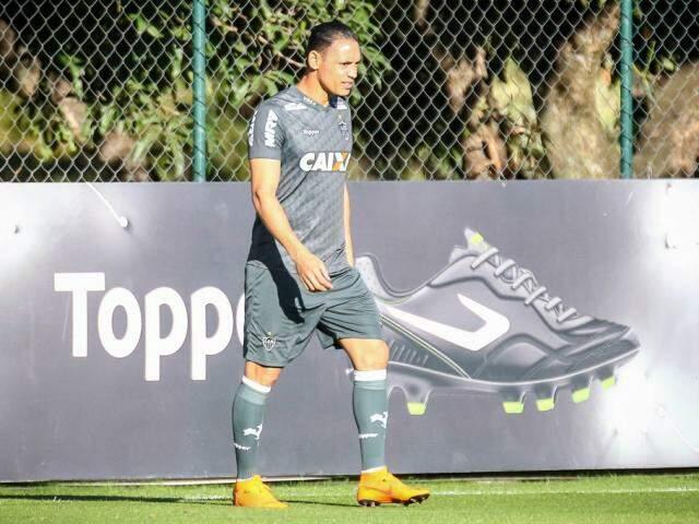 Atacante Ricardo Oliveira é a esperança de gols do Galo hoje em Salvador (Foto: Bruno Cantini/Atlético)