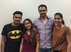 Renan, Agatha, Volmir e Francini. (Foto: Acervo Pessoal)