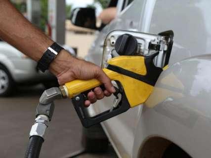 Preço médio do litro da gasolina e etanol tem leve queda em MS