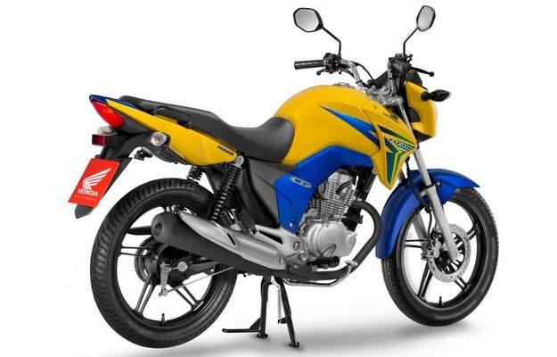 Honda lança CG 150 com cores do Brasil
