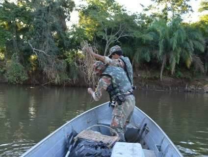 Pesque-solte começa na quarta-feira e PMA reforça fiscalização em rio