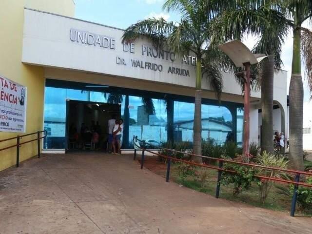 Entrada da Unidade de Pronto Atendimento do Coronel Antonino (Foto? Arquivo/ Campo Grande News)
