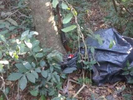 PMA desmonta acampamento clandestino de caçadores