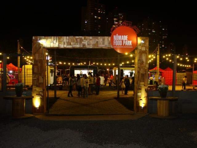 O Nômade Food Park abre as portas a partir das 18h de hoje, na Rua Ceará. (Foto: Fernando Antunes)