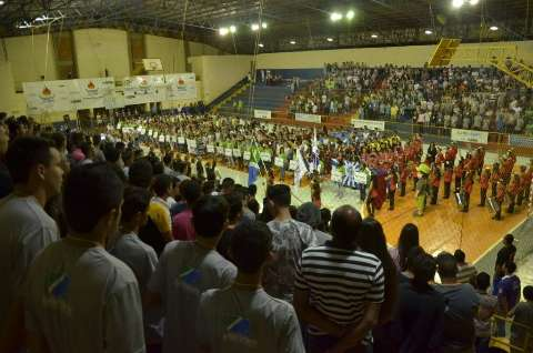Em Curitiba, atletas de 12 a 14 anos representam MS nos Jogos da Juventude