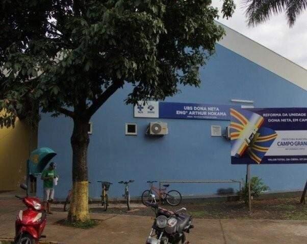 Incidente ocorreu na última terça-feira (21), na  UBS (Unidade Básica de Saúde) Dona Neta (Foto: Reprodução)
