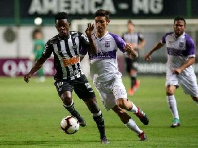 Partida rolou sem grandes atuações dos dois times. (Foto: Reprodução/Atlético-MG/FC)