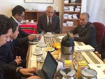 Reinaldo lidera Codesul para comprar gás direto da Bolívia, sem a Petrobras